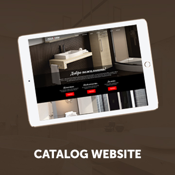 Catalog website